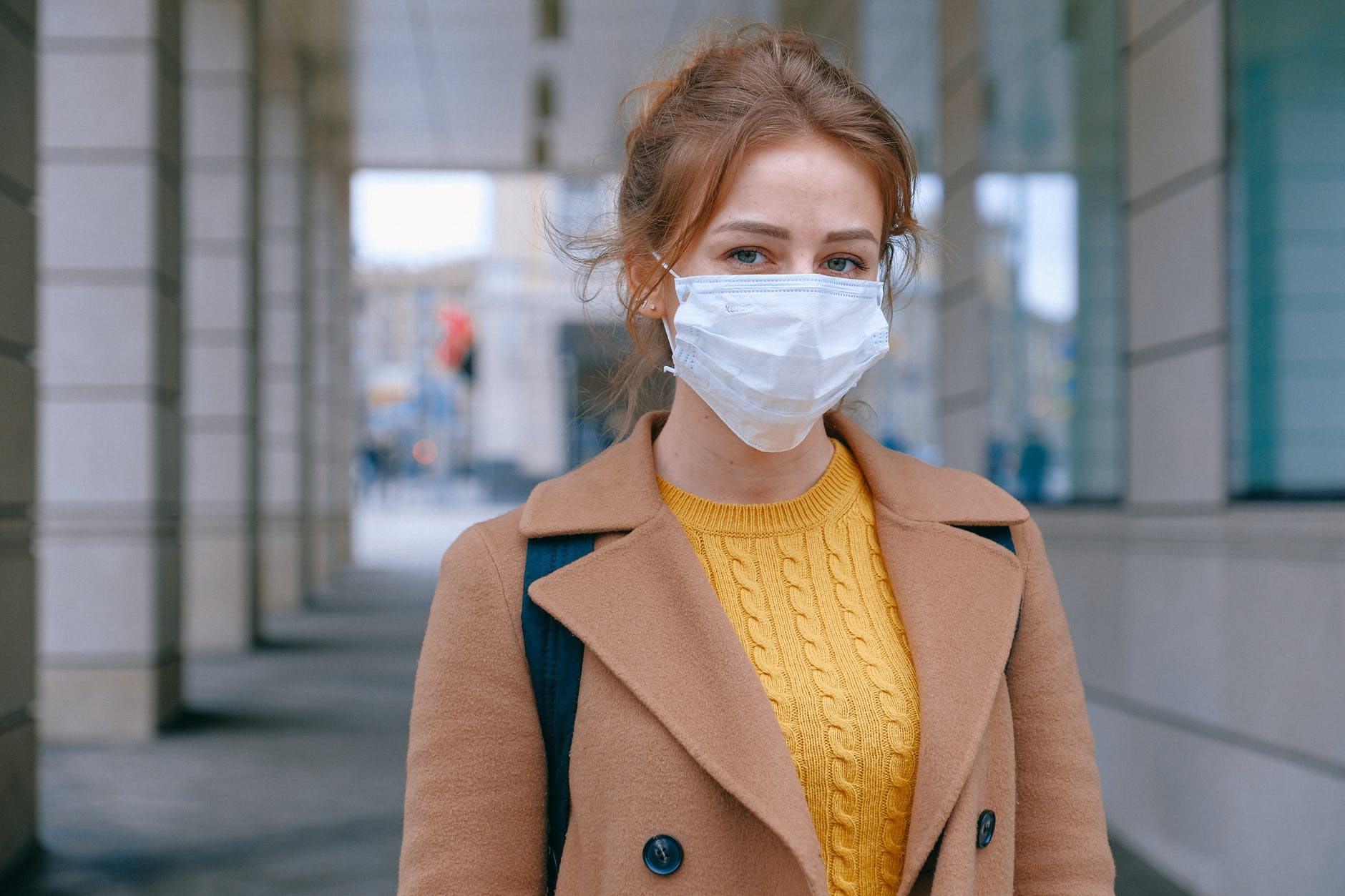 girl with mask pexels
